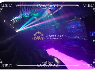 Party Limousine mieten Wien limousine interior