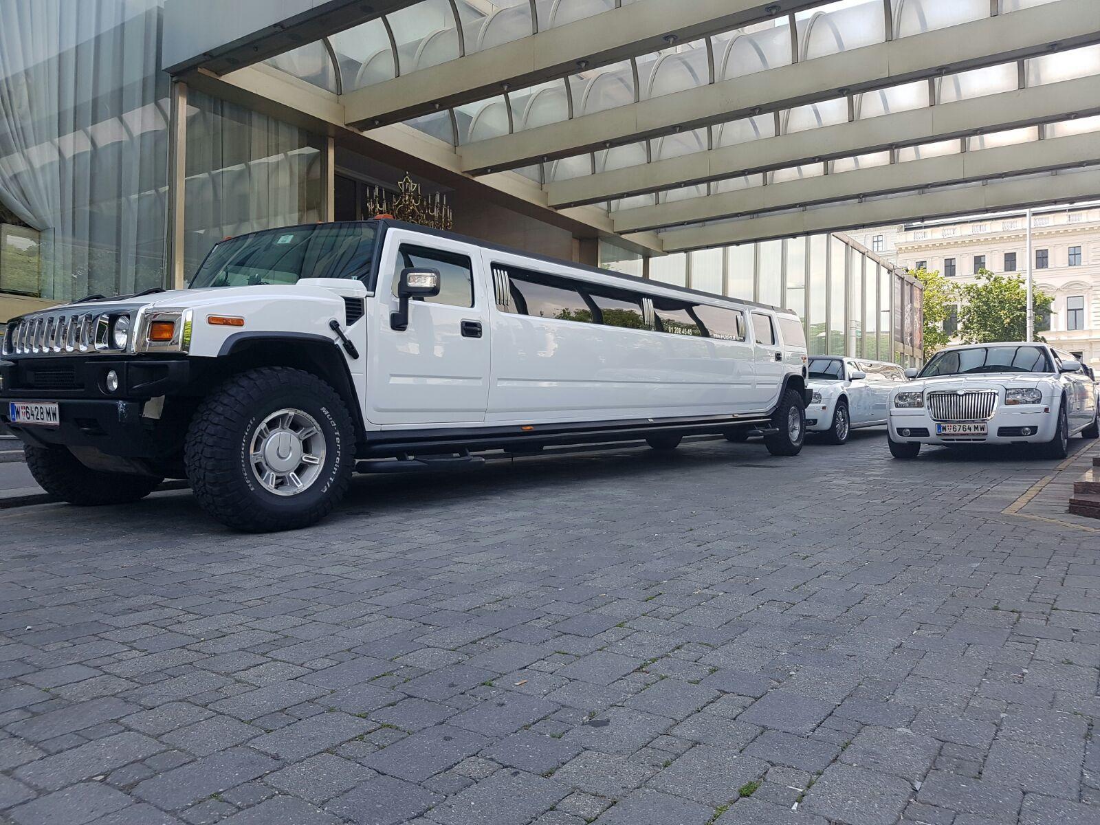 Hummer Limousine mieten